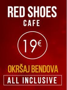 red shoes cafe docek nove godine