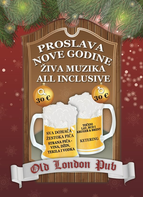 old london pub nova godina